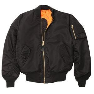 Picture of Alpha Industries Men's MA-1 Bomber Flight Jacket Black