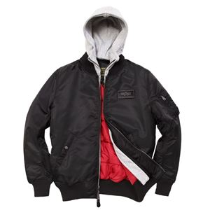 Picture of Alpha Industries D-Tec Flight Jacket Black