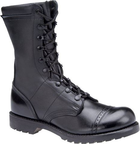 """Picture of CORCORAN 1525 MENS 10"""" FIELD BOOTS LEATHER BLACK"""