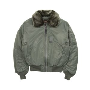 Picture of B-15 Flight Jacket Sage Green