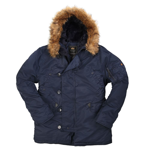 Picture of ALPHA INDUSTRIES N-3B PARKA REPLICA BLUE