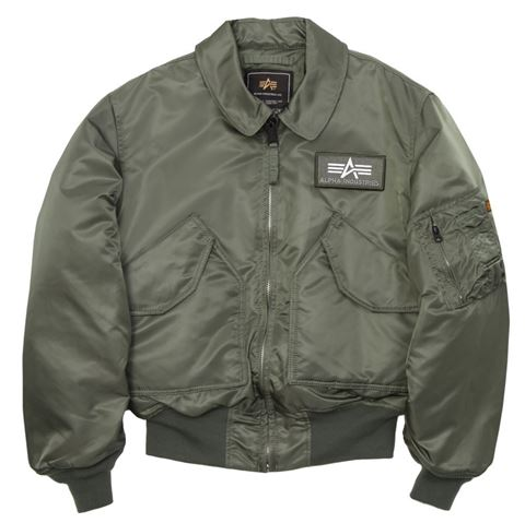 Picture of CWU 45/P Flight Jacket Sage Green