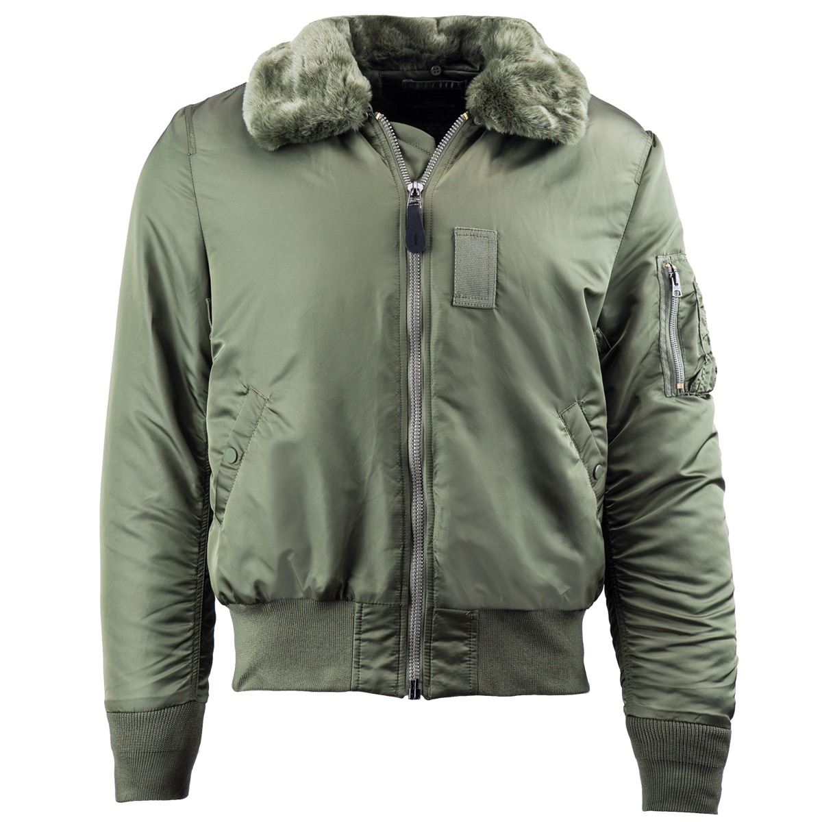 008fe83c16b ... Picture of Alpha Industries Slim B-15 Flight Jacket White
