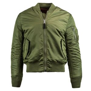 Picture of Alpha Industries Men's Slim Fit MA-1 Bomber Flight Jacket Sage Green