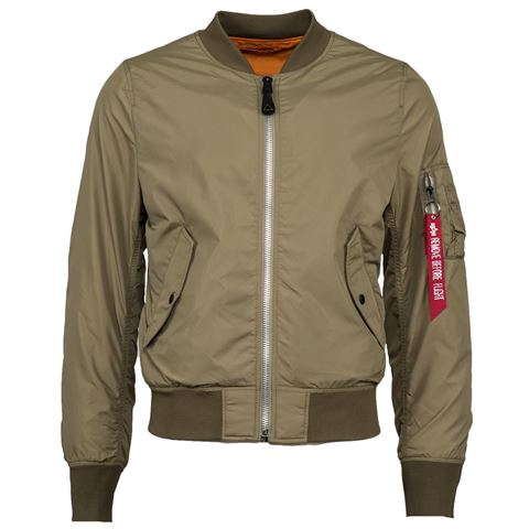 Picture of Alpha Industries L-2B Scout Light Weight Flight Jacket Stratos
