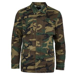 Picture of Alpha Industries Revival Light Weight Field Coat Woodland Camo
