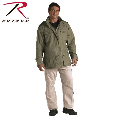 Picture of ROTHCO VINTAGE LIGHTWEIGHT M-65 JACKET SAGE GREEN
