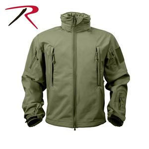 Picture of Rothco Men's Special OPS Tactical Soft Shell Jacket Waterproof Shell 3 colors