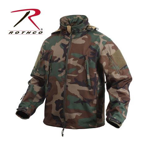 Picture of Rothco Men's Special OPS Tactical Soft Shell Jacket Waterproof Shell 4 colors