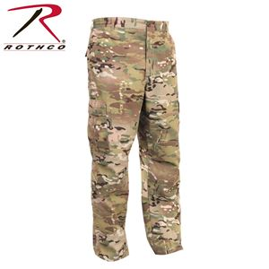 Picture of Multicam BDU Pants 6-Pocket Military Style Poly/Cotton Rip-Stop Cargo Pants 2950