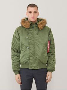 Picture of Alpha Industries N-2B Short Waist Parka Sage Green