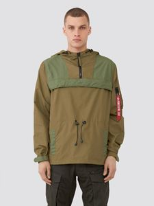 Picture of Alpha Industries Color Blocked Anorak Blue # 9, Vintage Olive
