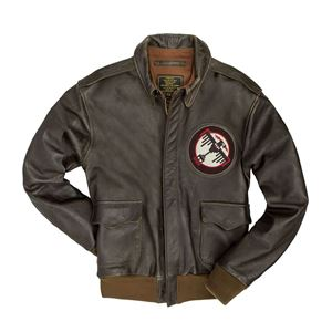 Picture of COCKPIT USA Tokyo Raiders A-2 Jacket  Brown Z21S018 Made in USA