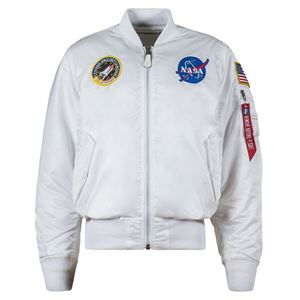Picture of Alpha Industries MA-1 NASA Flight Jacket White
