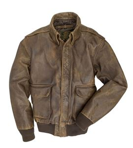 Picture of COCKPIT USA MUSTANG A-2 JACKET BROWN USA MADE