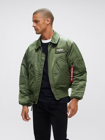 Picture of Alpha Industries CWU 45/P Flight Jacket Sage