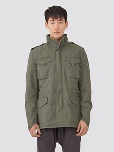 Picture of Alpha Industries M-65 Defender Field Coat Olive